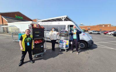 Liverpool Veterans Benefit From Asda Donation