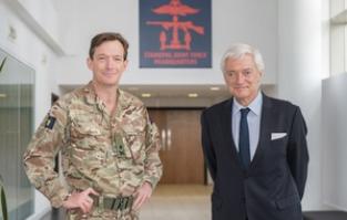 Norwegian Ambassador Visits Standing Joint Force Headquarters