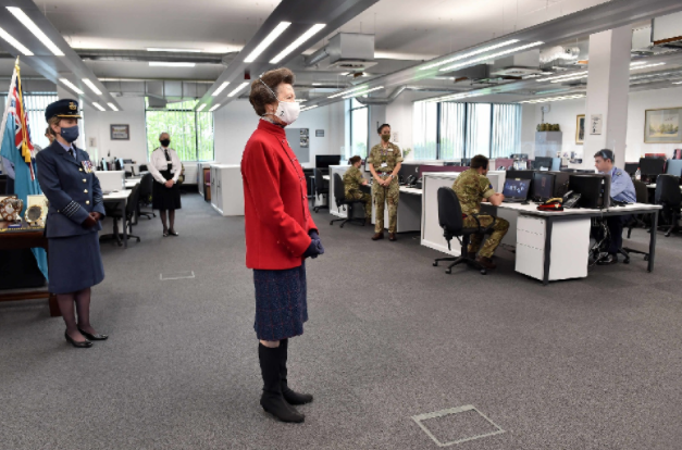 Princess Royal Opens New Defence College Of Logistics, Policing and Administration And The RLC Museum