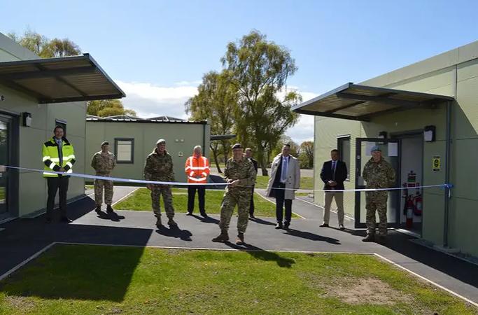 Lt Gen Richard Nugee Opens Nesscliff NetCAP Buildings