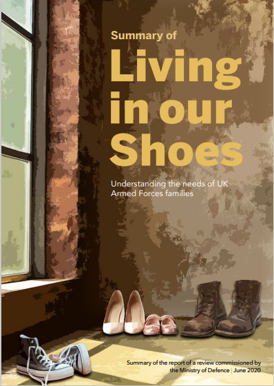 Living In Our Shoes: Understanding The Needs Of UK Armed Forces Families – MOD Review Findings Published