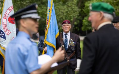 Armed Forces Joins Veterans Of The Korean War