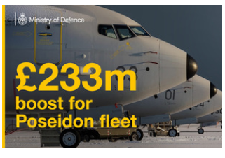 £230m Boost For RAF Submarine-Hunter Fleet