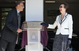 HRH The Princess Royal Opens The New RFCA Headquarters