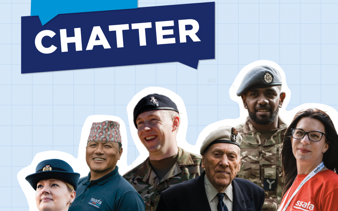 SSAFA Launches Podcast  For Armed Forces Community