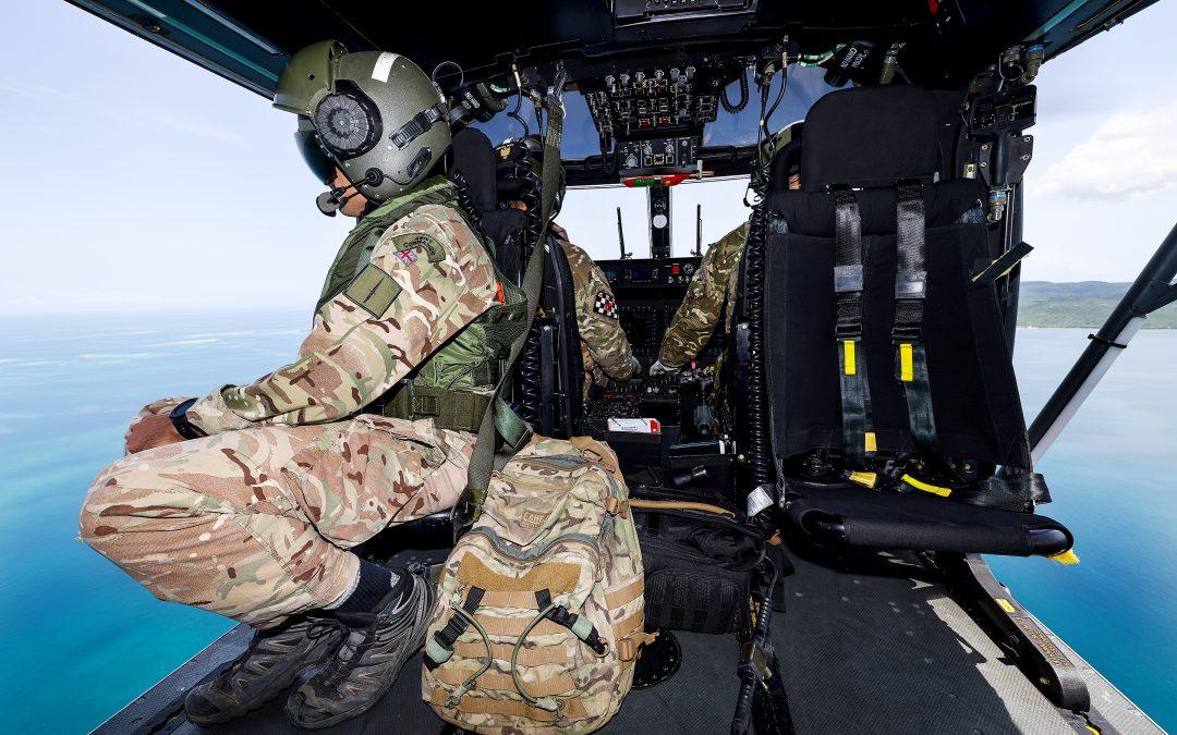Royal Navy Help In Earthquake-Hit Haiti
