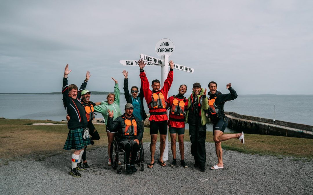 Kayakers Raise £100,000 For Fellow Wounded Veterans In World-First Challenge