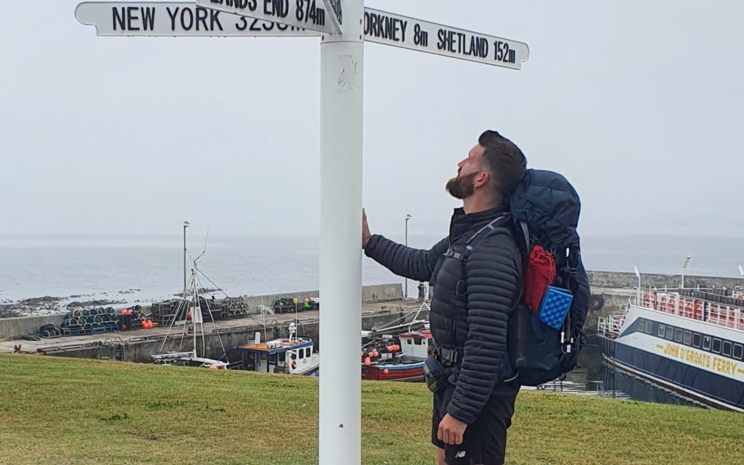 Derbyshire Man Hiking 1,200 Miles From John O'Groats To Land's End For Charities