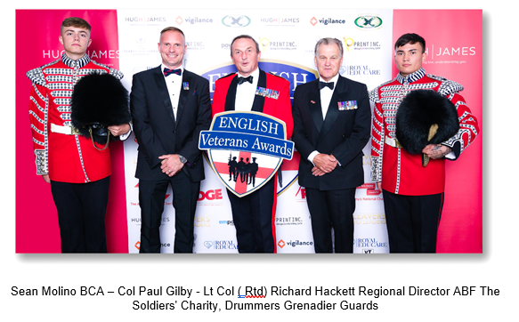 English Veterans Awards 20/21 Takes Place In Solihull