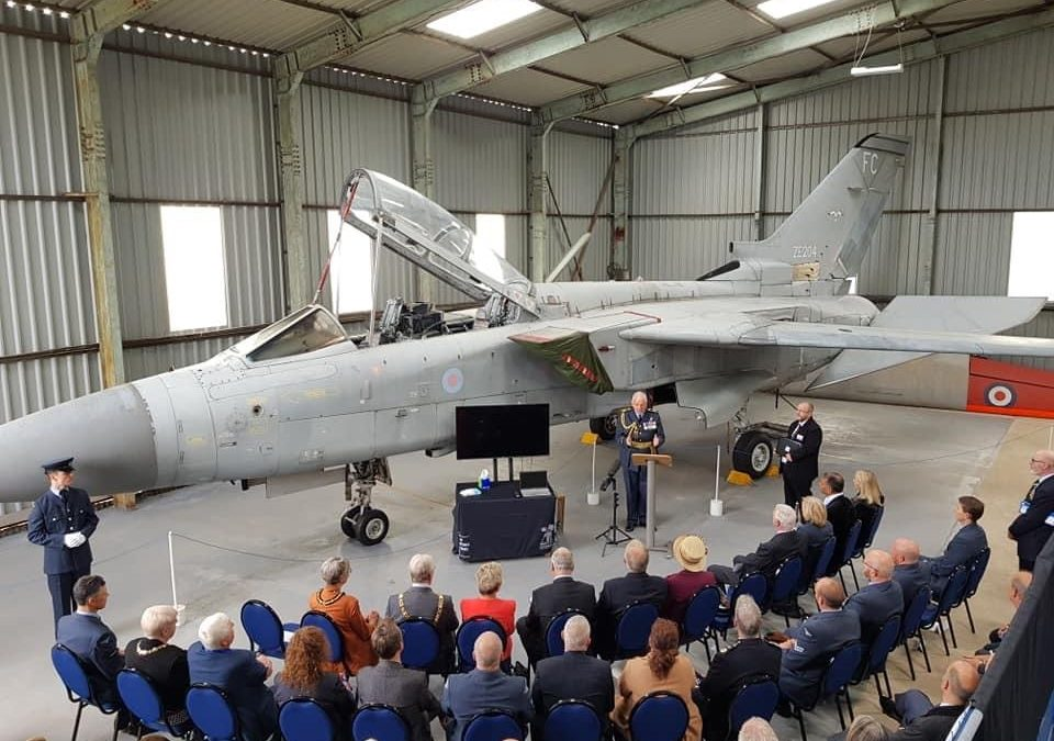RAF Hand Over Tornado F3 To North East Air Land & Sea Museums