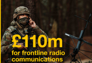 £110m Investment For Frontline Radio Communications