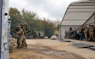 Minister Visits Army Warfighting Experiment 2021- Embracing Technology For The Future